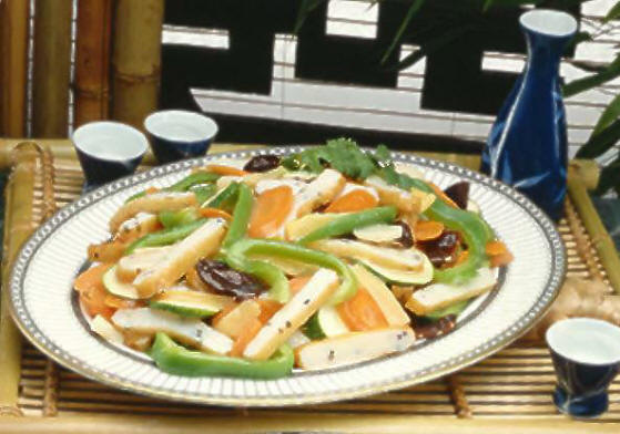 Stir-Fried Pork with five Vegetables
